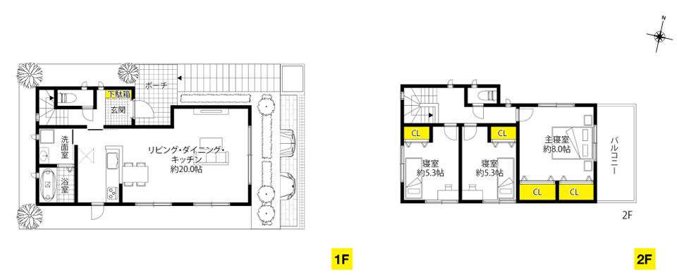 奥天神町、11号地 高台感を高める階段のアプローチがある家。| ザ・カーサ奥天神プロジェクト
